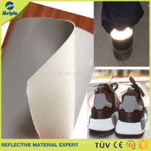 Reflector Silver PU for Sports Shoes/Reflective Shoes Material